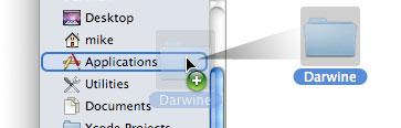 Установка Darwine под Mac OS X