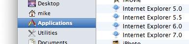 Запуск IE 5, 6, 7 на mac