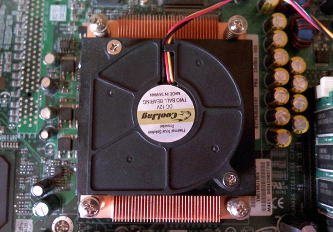 Серверный кулер CoolJag для процессора P4