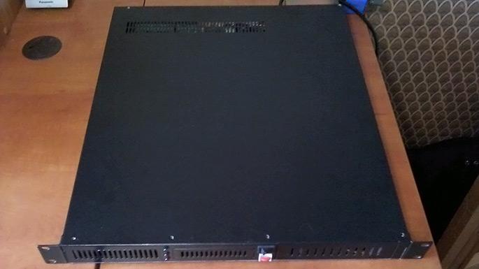 Сервер в корпусе Genesys Rack-1500B