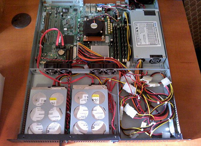 Готовый сервер